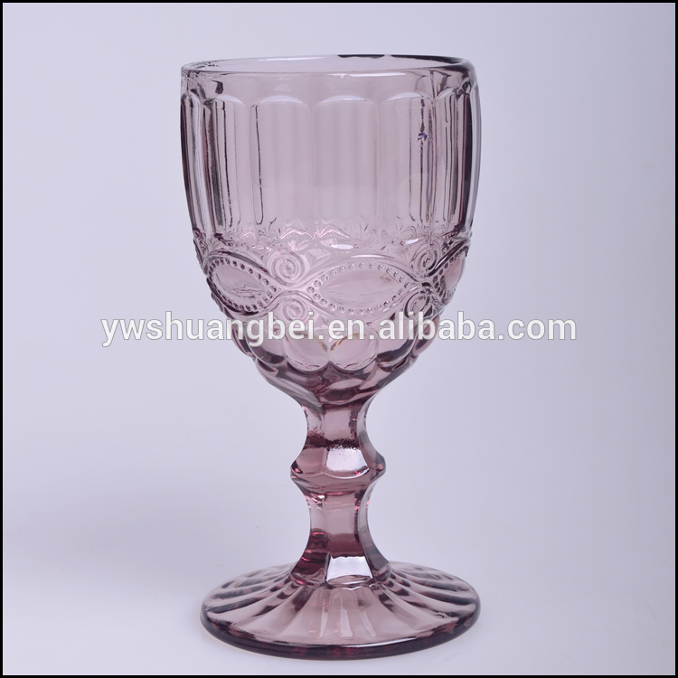 Fancy Purple Ice Cream Bowl Set sundae cups Good Quality