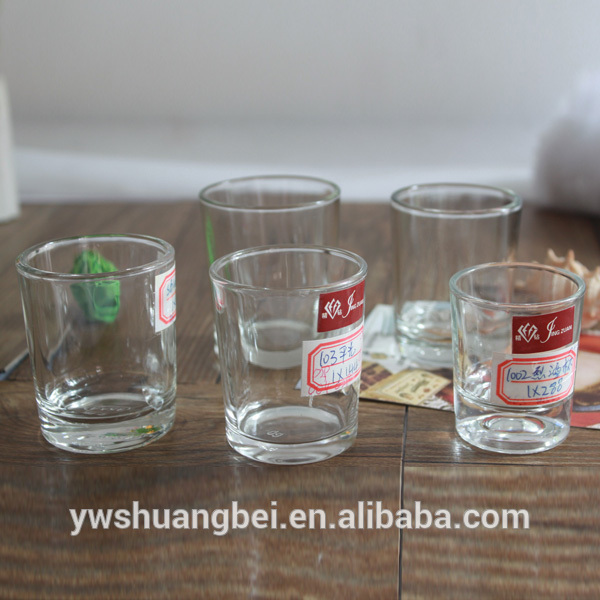 Cheap Clear Small Customized Shot Glass We Can Accept Custom Logo