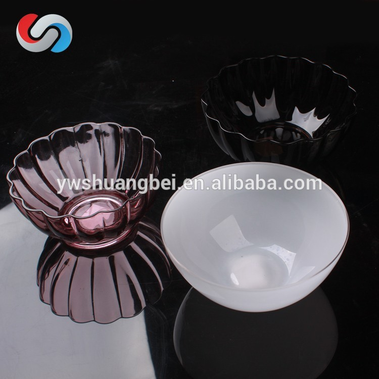 Hot Selling Colorful Glass Bowl,Crystal Bowl , Decorative Glass Bowl Round Glass Bowl