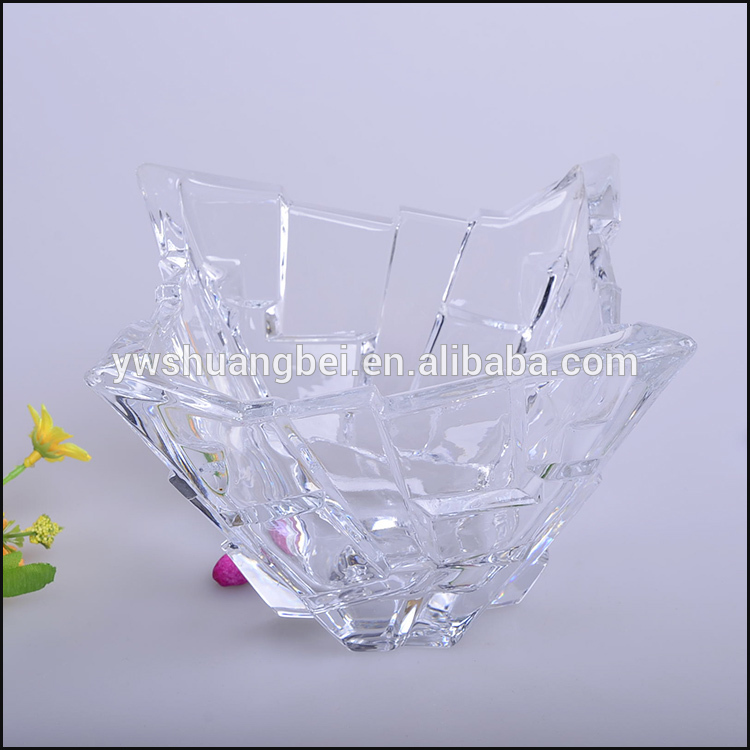 Wholesale Antique Irregular Glass Fruit Plate For Promotional Gift/Present