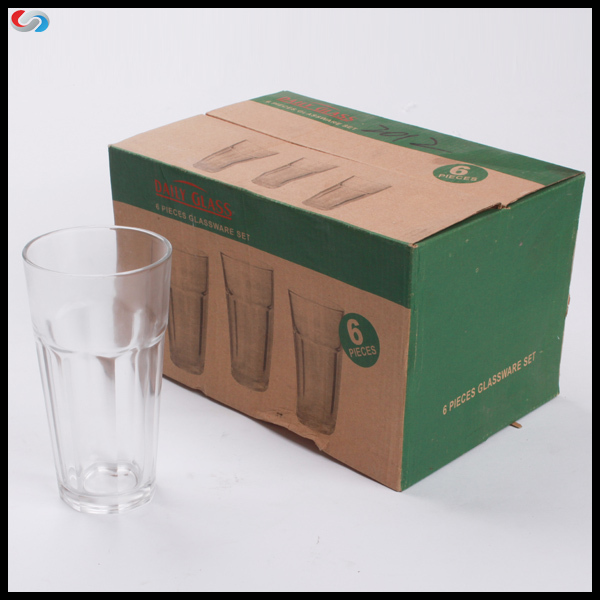 6 oz Rock Water Piala Kaca, Shot / Beer Kaca Jetty Gedhe Drinking Ware Sets