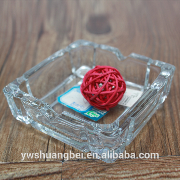 """6"""" Round Colored Painting Bottom Glass Ash Holder, Glass Ashtray For Promotion"""