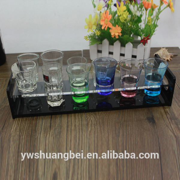 Wholesale 12-Hole Elegant Holder Colored Cup Glass