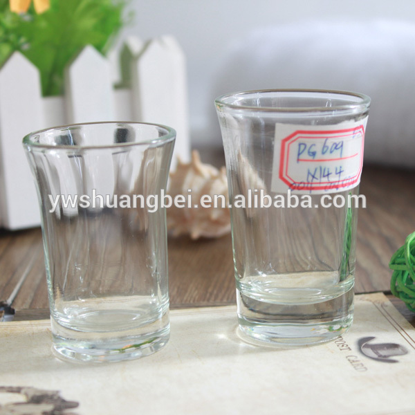 Hot Sale Clear Shot Glass Vodka Shot Glass Custom Glassware