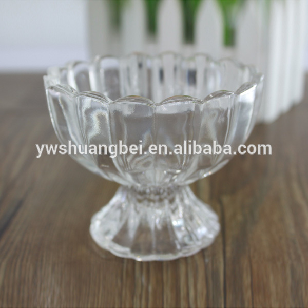 Hand made Glass Ice Cream Bowl,Personalized salad Bowls sundae cups