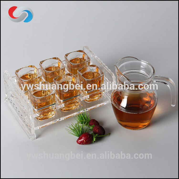 Akryl Bar Glass Cup Holder, Glass Cup Storage Rack