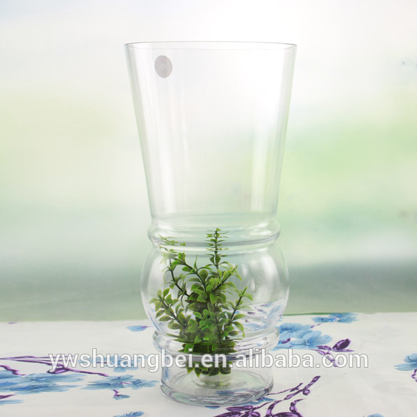 Large Glass Ubaxa dheri Tall Clear Glass Ubaxa dheri
