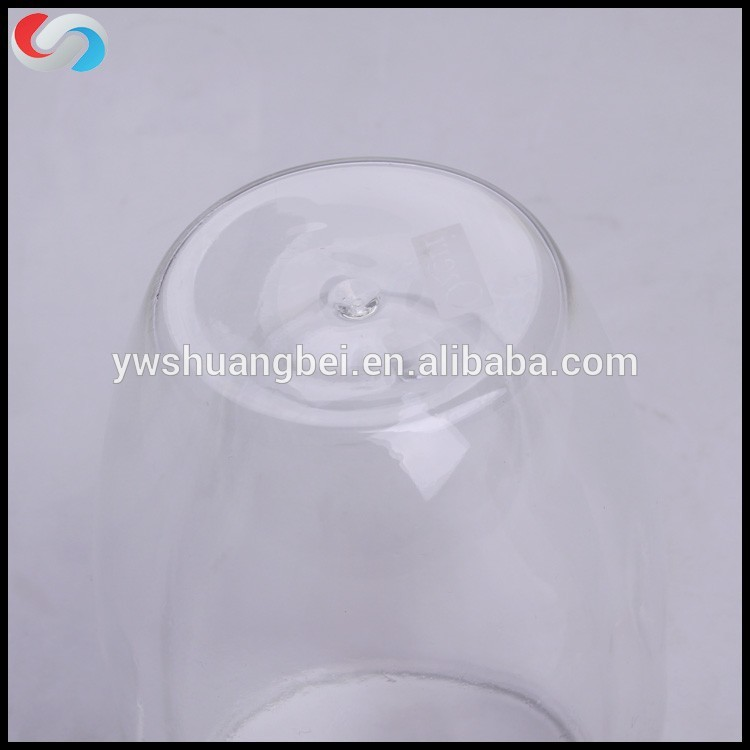 New Design 450ml Double Wall Borosilicate Glass Cup For Coffee And Milk