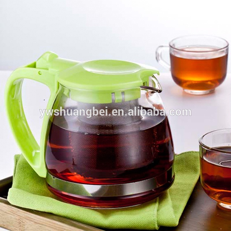 700ML New Business Ideas Promotional Gift Glass Water Jug WIth Plastic Mug