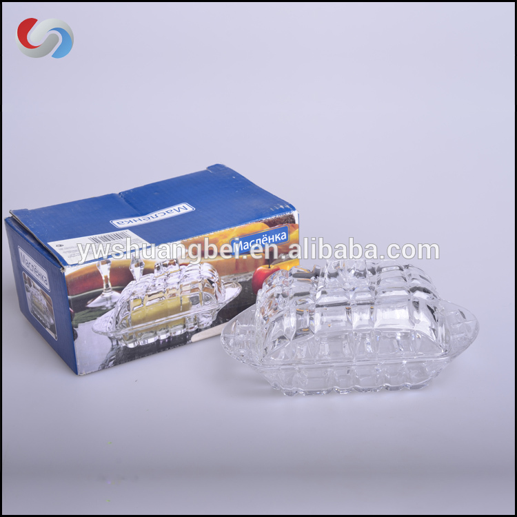 Hot Sale Glass Soap Box Glass Soap Dish Sa Lid