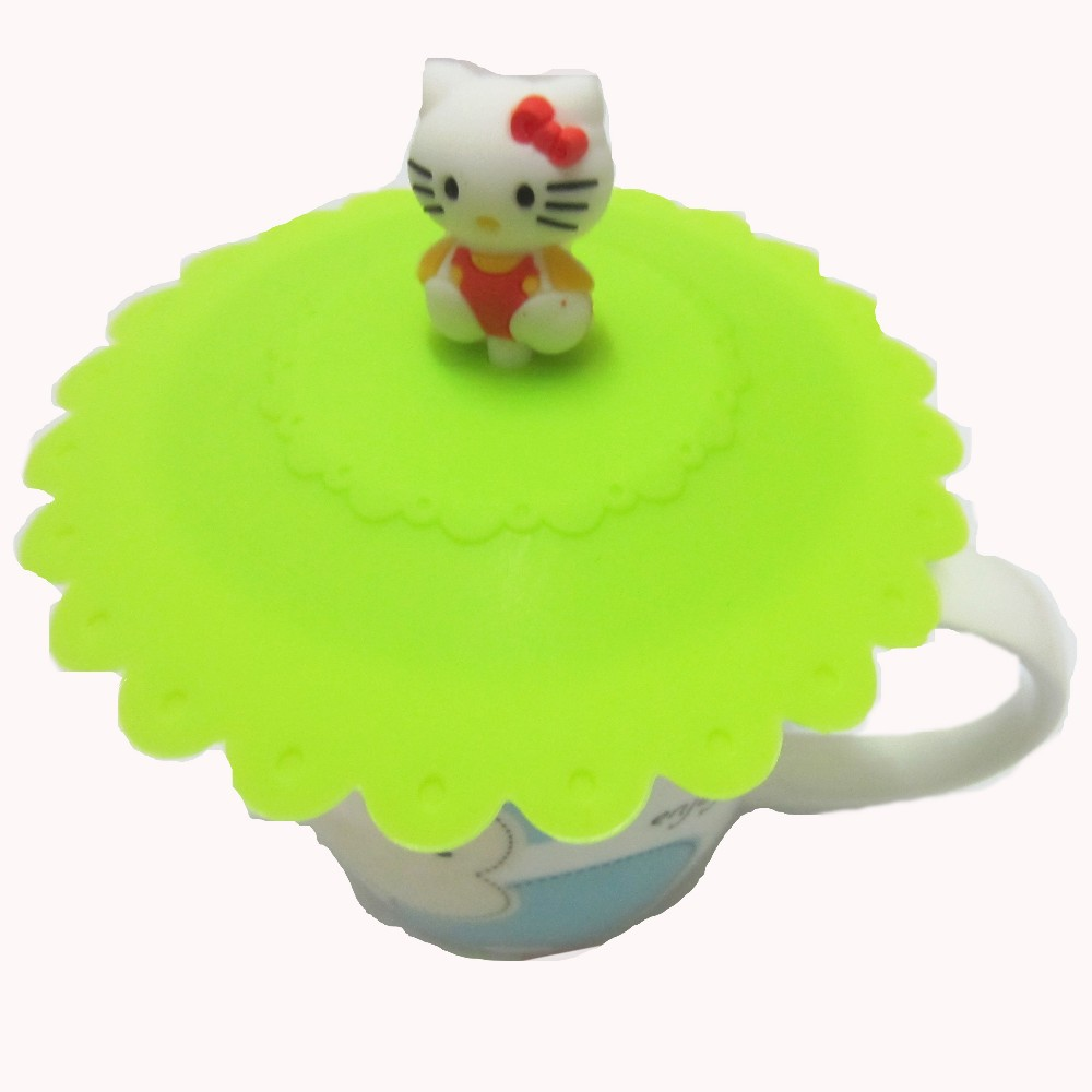 Silicone Lid Mug Cover Custom Silicone Coffee Cup Lids Cups & Saucers Carton