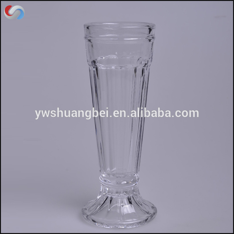 High Quality Tall and Slim Glass Juice & Ice Cream Cup Sundae Dishes,Glassware