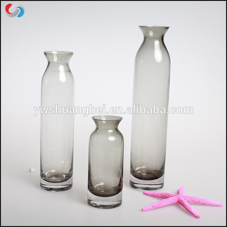 Wholesale Custom Print and Promote Gift Glassware Colored Glass Bud Vases