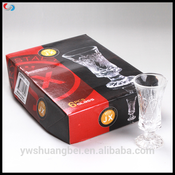 Best Price 4OZ Stemless pribadi Shot Glass Kanthi kaluwihan Box